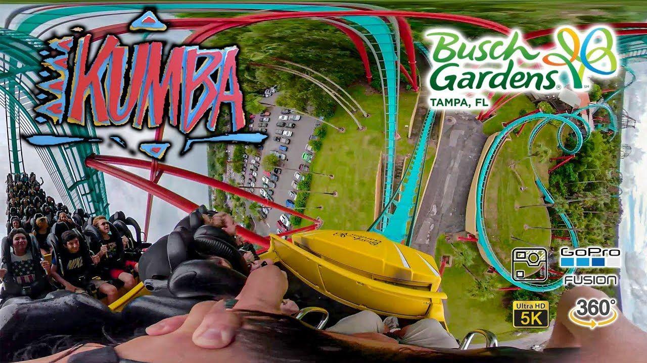 Videos Of Rides At Busch Gardens