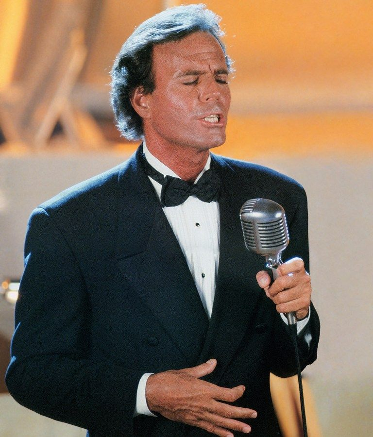 Ooooooh, what can I say!  Blessed with good looks, a powerful voice, and a gift for communicating with an audience, Julio Iglesias is one of the most popular and enduring figures in the history of Latin music, a true international superstar, selling  over 300 million albums worldwide, spanning  six decades.  Julio has a recorded material in German, Italian, French, Portuguese and Spanish, is Spain's best-selling singer of all time, having performed in 5,000 concerts during his career.
