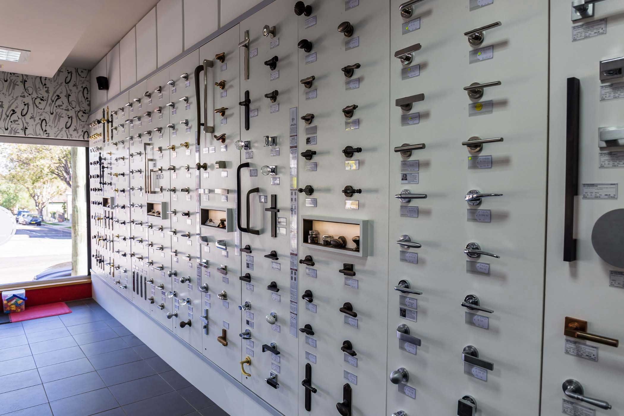 About Us Architectural Door Hardware Interior Shop Display