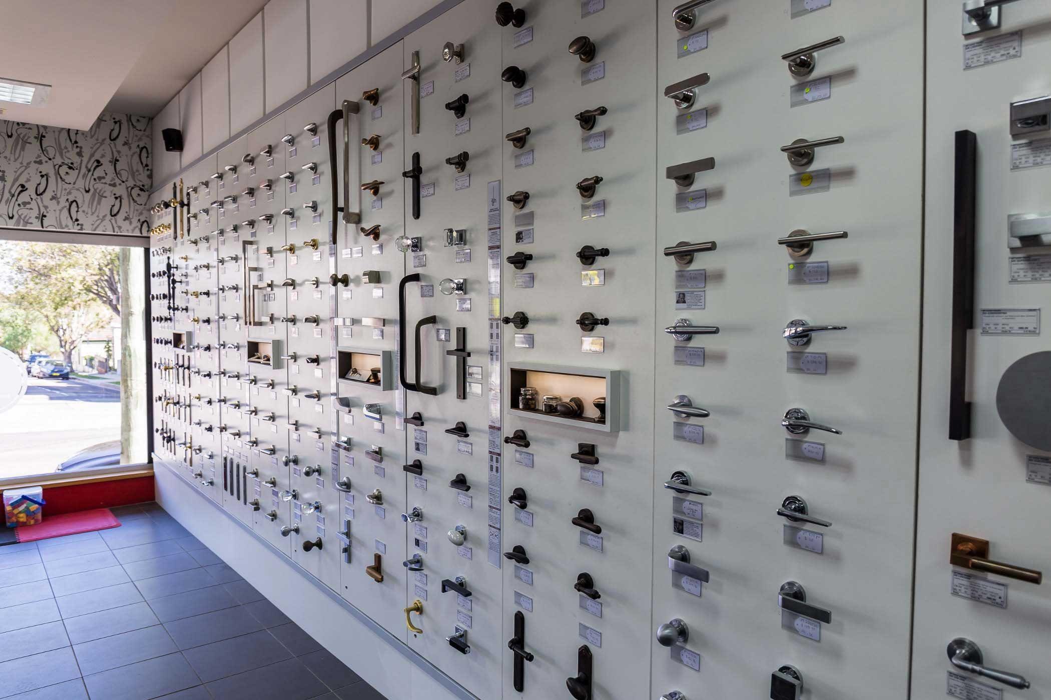 About Us Architectural Door Hardware Interior Shop Display