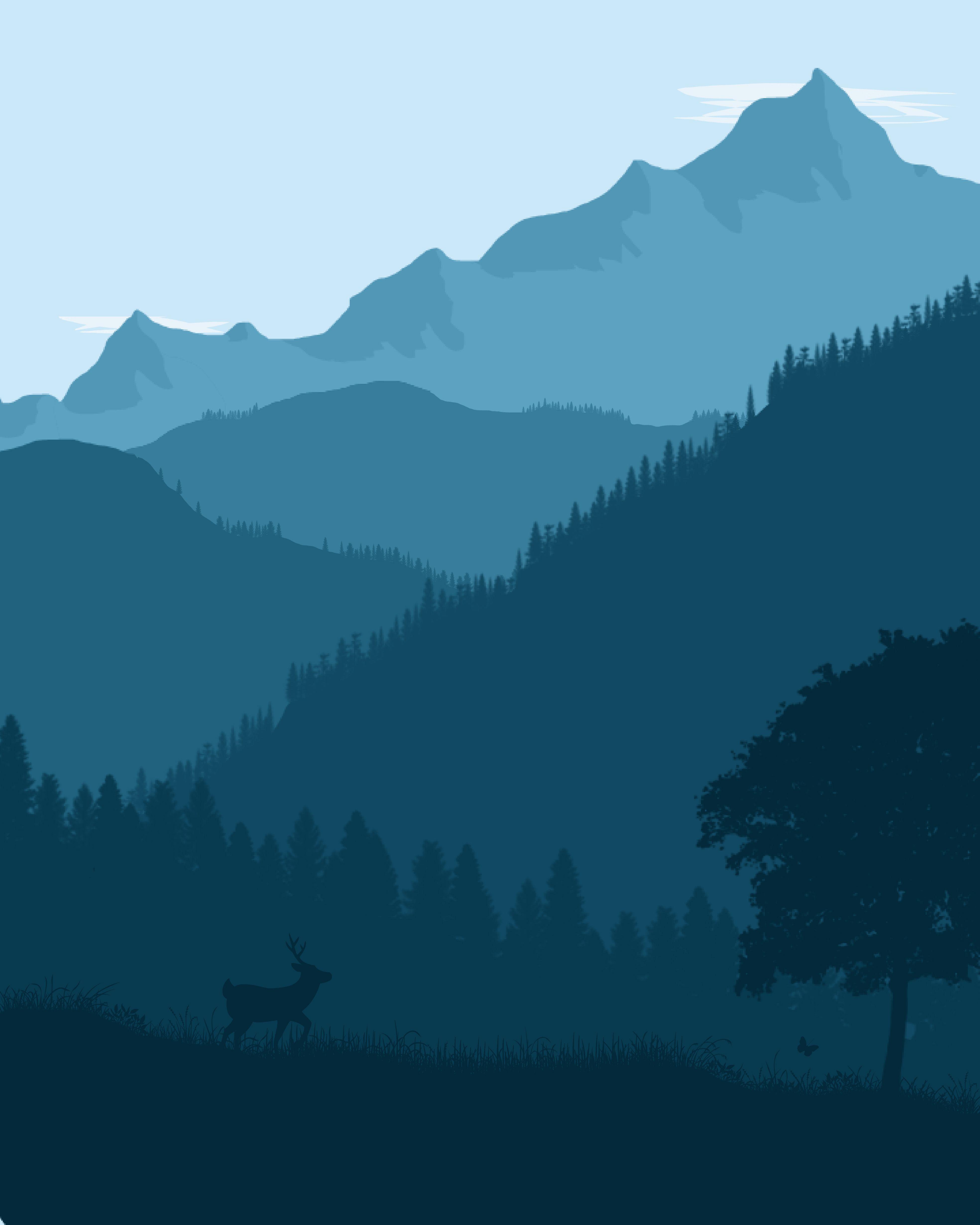paysage de montagne flat landscape paysage pinterest paysage de montagne et paysages. Black Bedroom Furniture Sets. Home Design Ideas