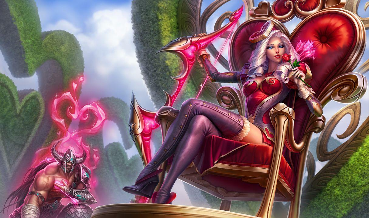 Ashe League Of Legends League Of Legends Inspirations