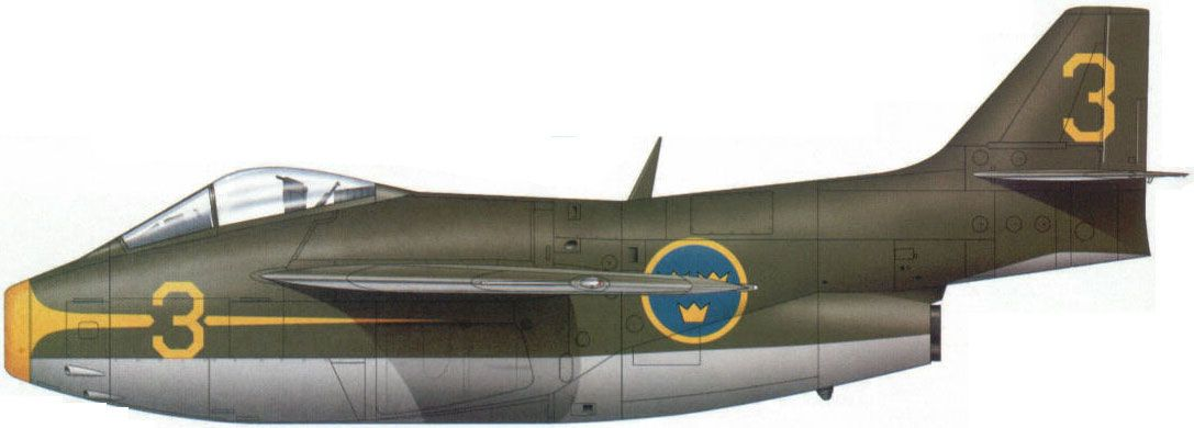 """Saab 29 """"Tunnan"""""""