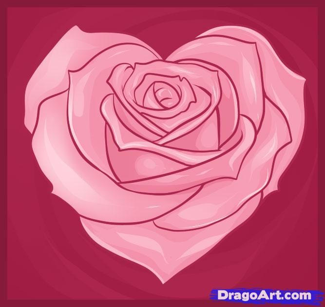 How to Draw a Pretty Heart | Art | Pinterest | Tattoo ...