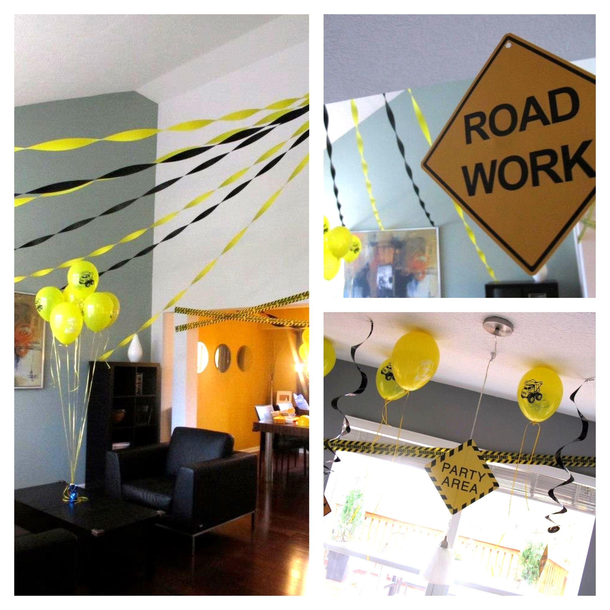 Construction party decoration ideas.  sc 1 st  Pinterest & Construction party decoration ideas. | Jasonu0027s 3rd birthday ideas ...