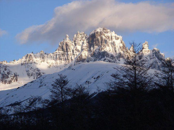 Cerro Castillo 2.675 msnm, Ubicado dentro de la Reserva Nacional Cerro Castillo, en la Región de Aysen, Chile