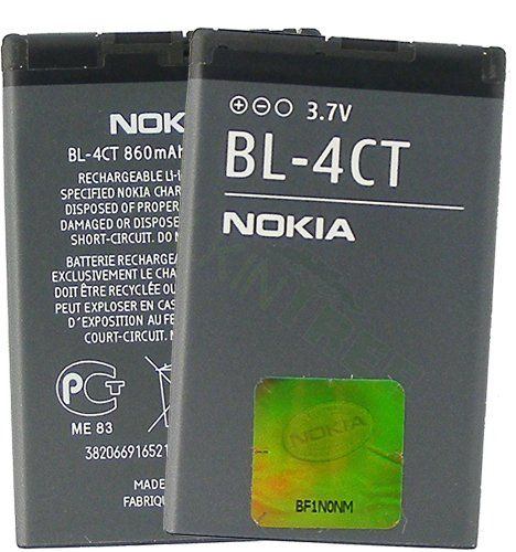 NOKIA OEM BL-4CT BATTERY 5310 5630 6600 fold 6700 7210 7230 7310 X3 on http://techaccessories.kerdeal.com/nokia-oem-bl-4ct-battery-5310-5630-6600-fold-6700-7210-7230-7310-x3