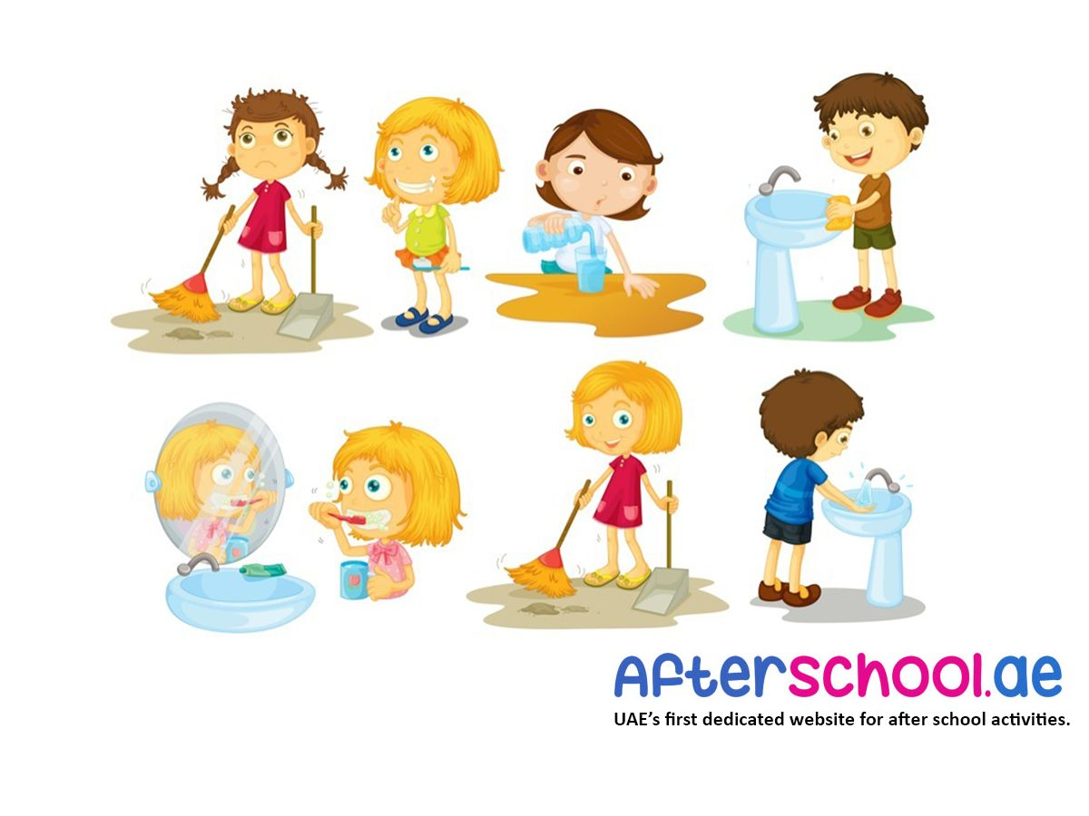 Fun Weekend Activity Encourage Your Little Ones To Help Maintaning The Cleanliness At Home