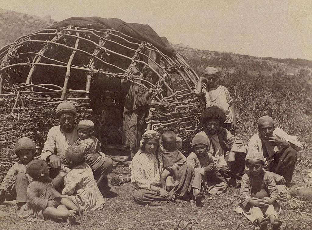 Talysh people of Iran by their home
