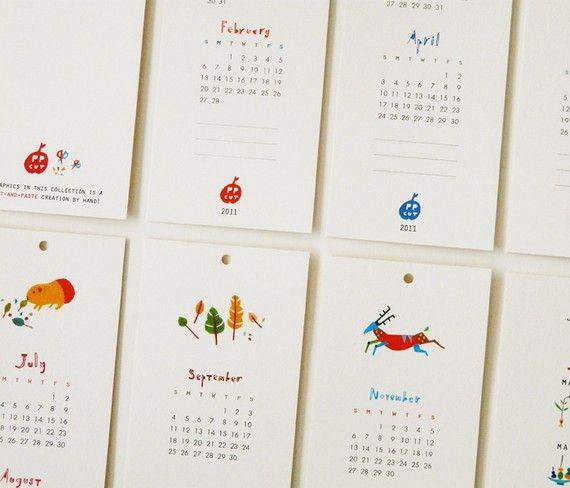 Wall Calendar Objects Calendar Design Art Calendar Diy Calendar