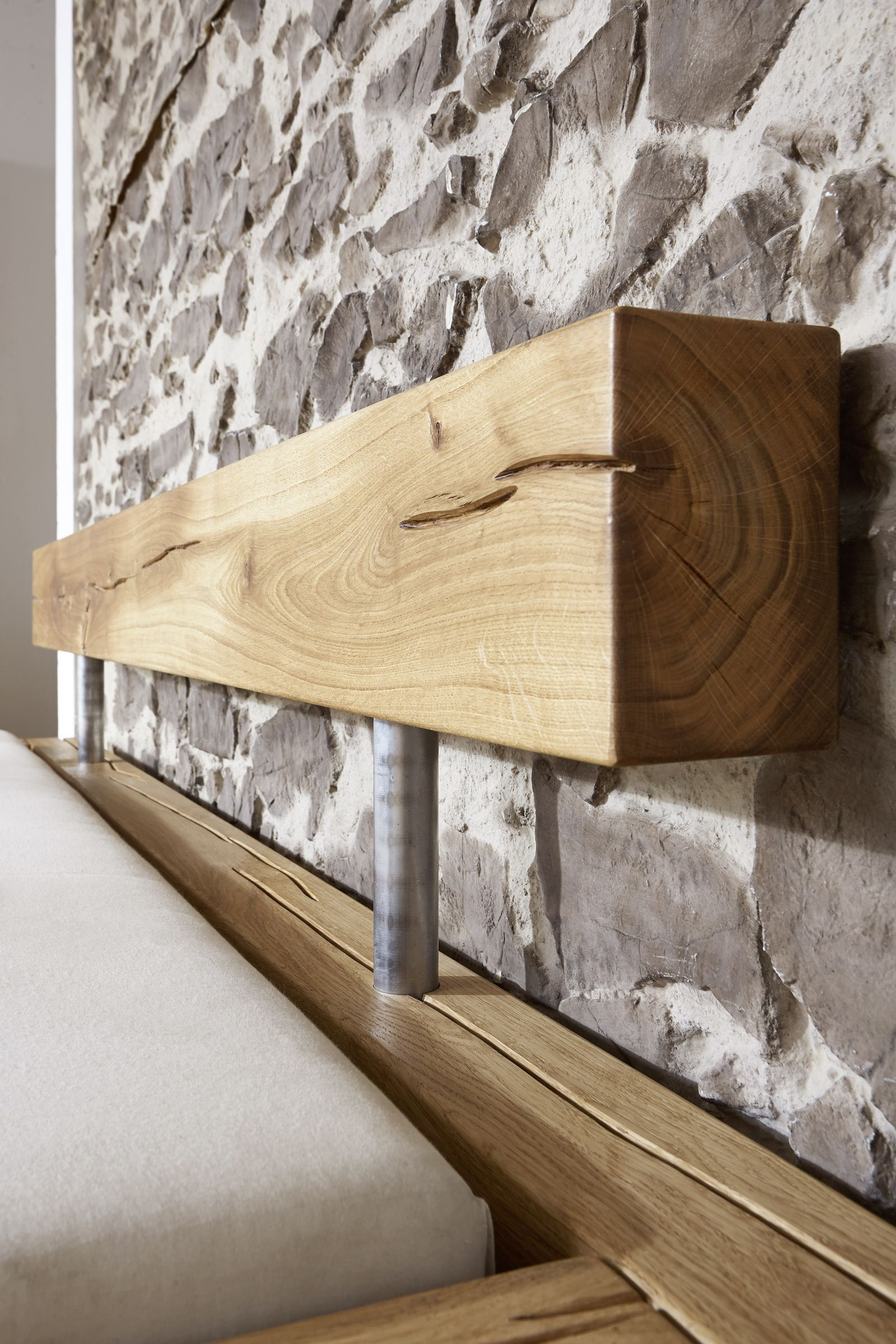 sam balkenbett jakob mit schubk sten holzbett 160x200 cm. Black Bedroom Furniture Sets. Home Design Ideas