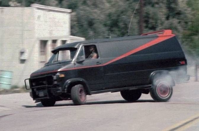 The 12 Most Memorable Cars In Tv History A Team Van The A Team Tv Cars