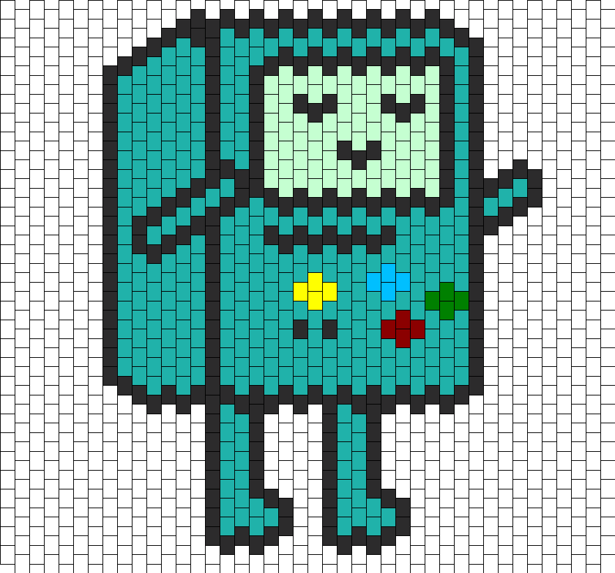 Search for perler bead templates for an easier way of creating Post ...