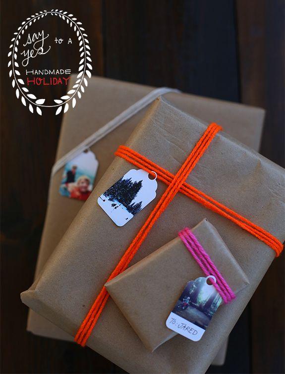 sch ne verwendung f r eure ausgedruckten instagram fotos geschenkanh nger f r weihnachten. Black Bedroom Furniture Sets. Home Design Ideas