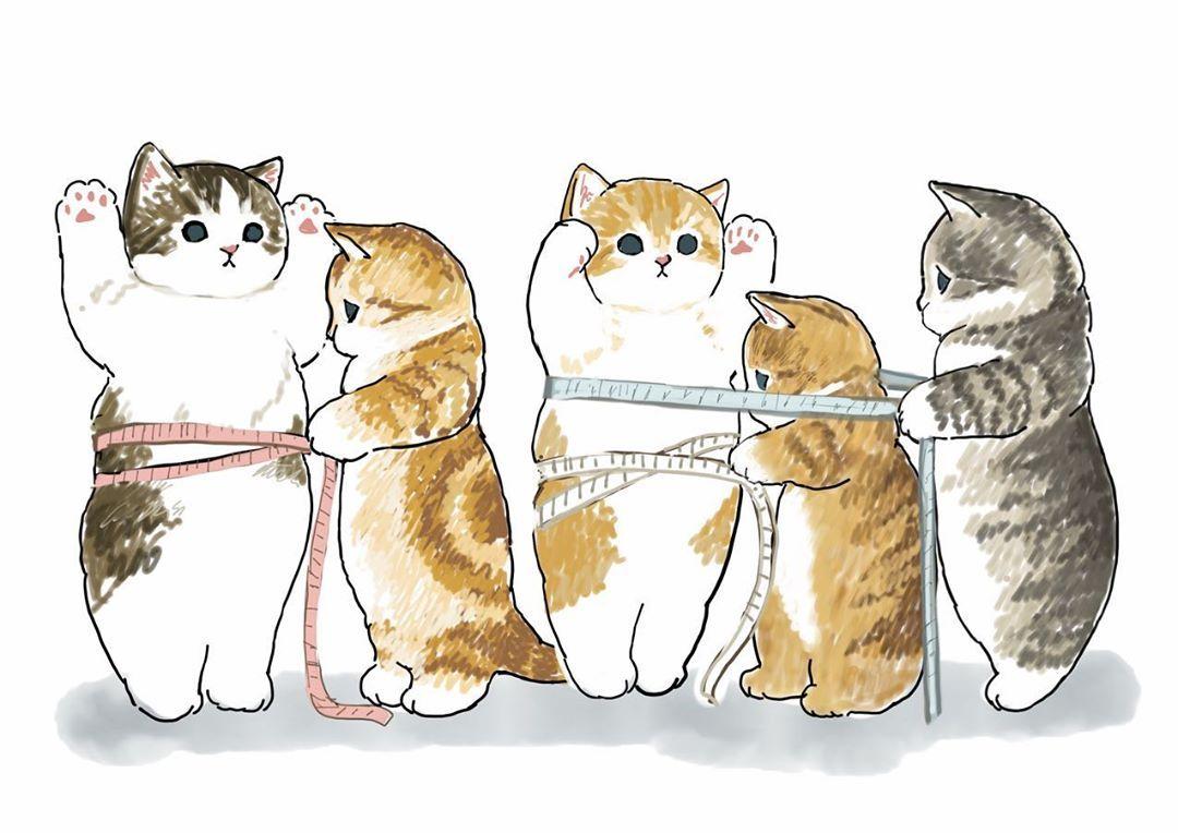 ぢゅの On Instagram Cute Cutecat Cat Catart Catartist Catartwork ねこ 猫アート 猫絵 猫 Catlovers Catport Cats Illustration Cat Art Illustration Cute Drawings