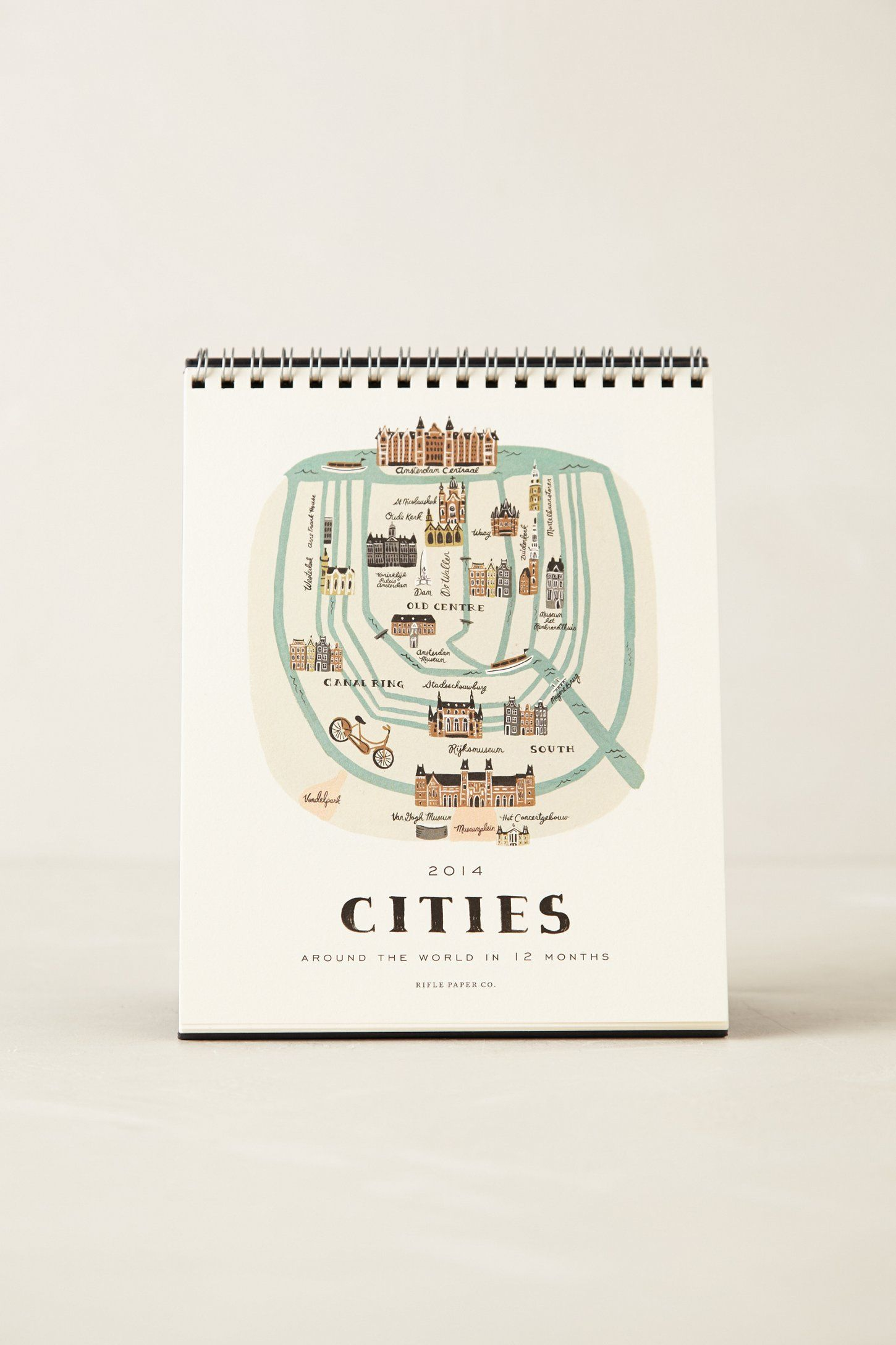 Cities 2014 Calendar from Anthropologie - $16.00