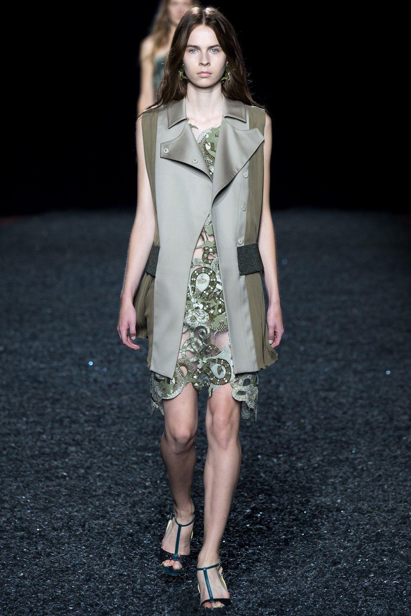 Mary Katrantzou Spring 2015 Ready-to-Wear Fashion Show - Willy Morsch
