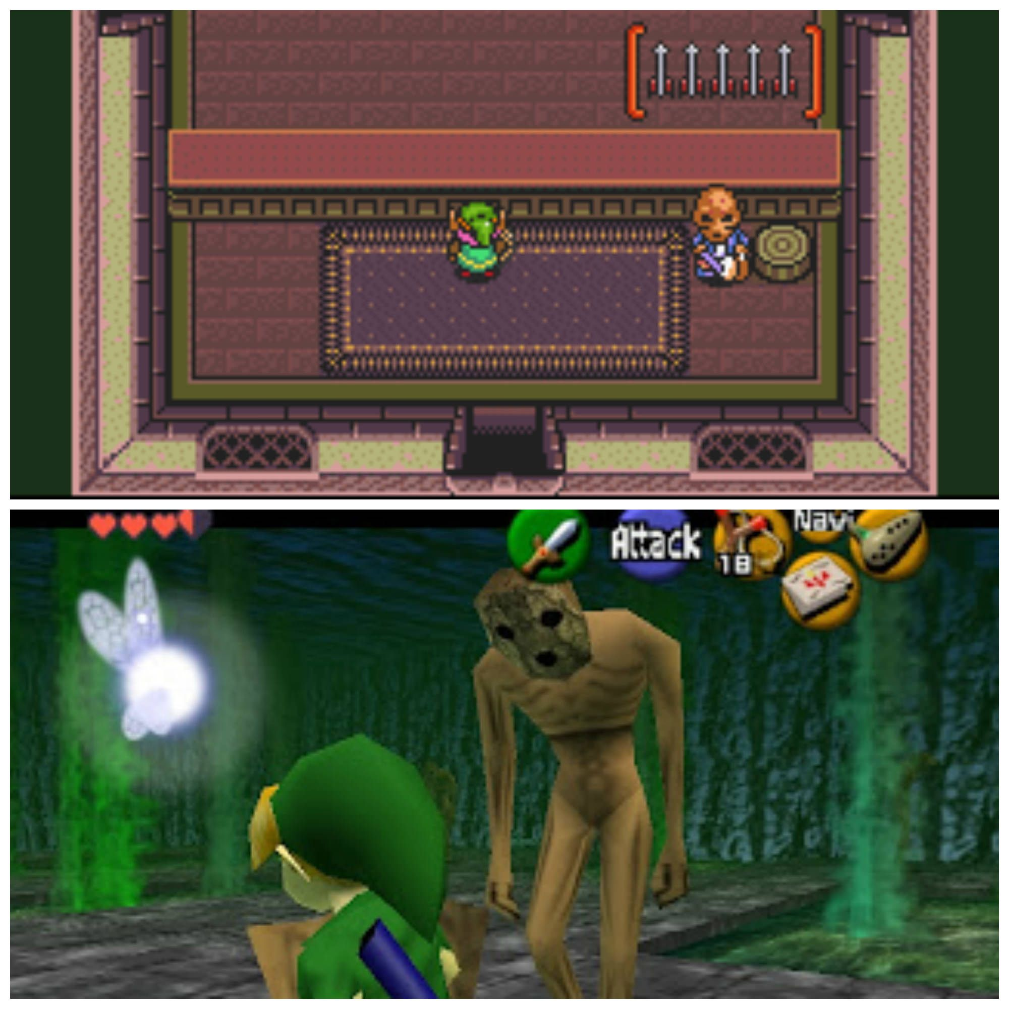 Is The Shooting Range Merchant In Link To The Past A Redead