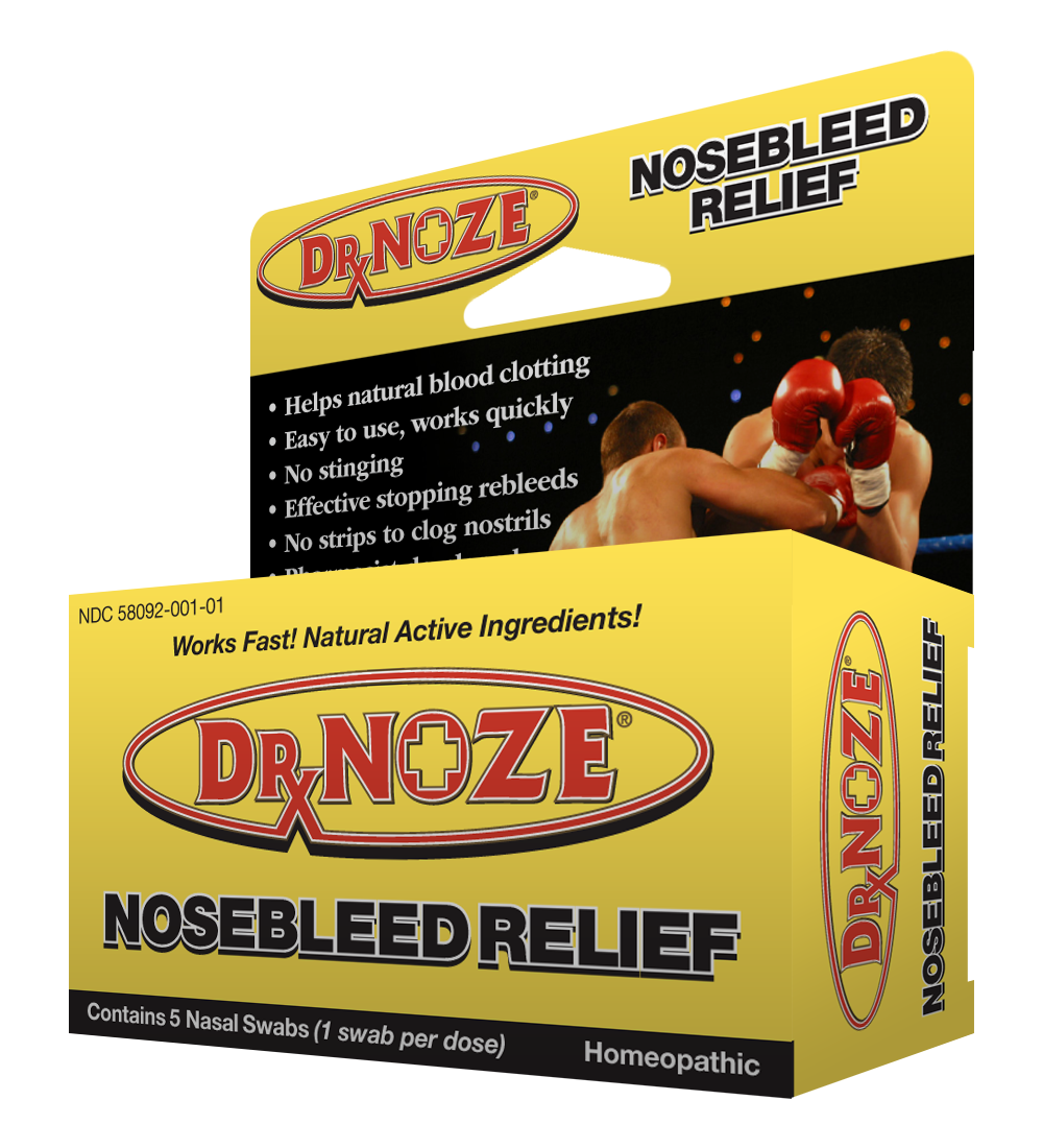 DRxNoze® Nosebleed Relief Stop a Nose Bleed as early as