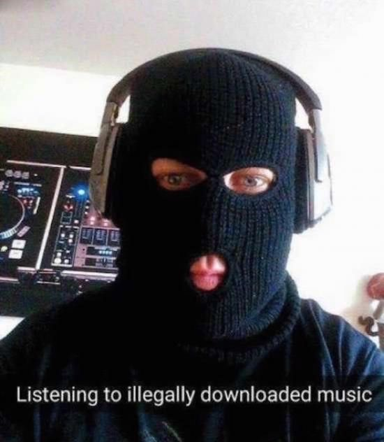 Meme/illegal downloading | Very funny pictures, Funny pictures ...