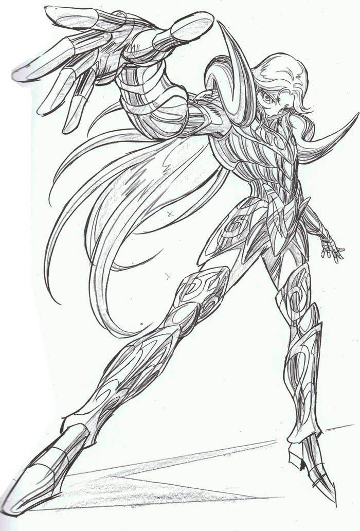 Desenhos Para Colorir Cavaleiros Do Zodiaco Aries Cavaleiros Do