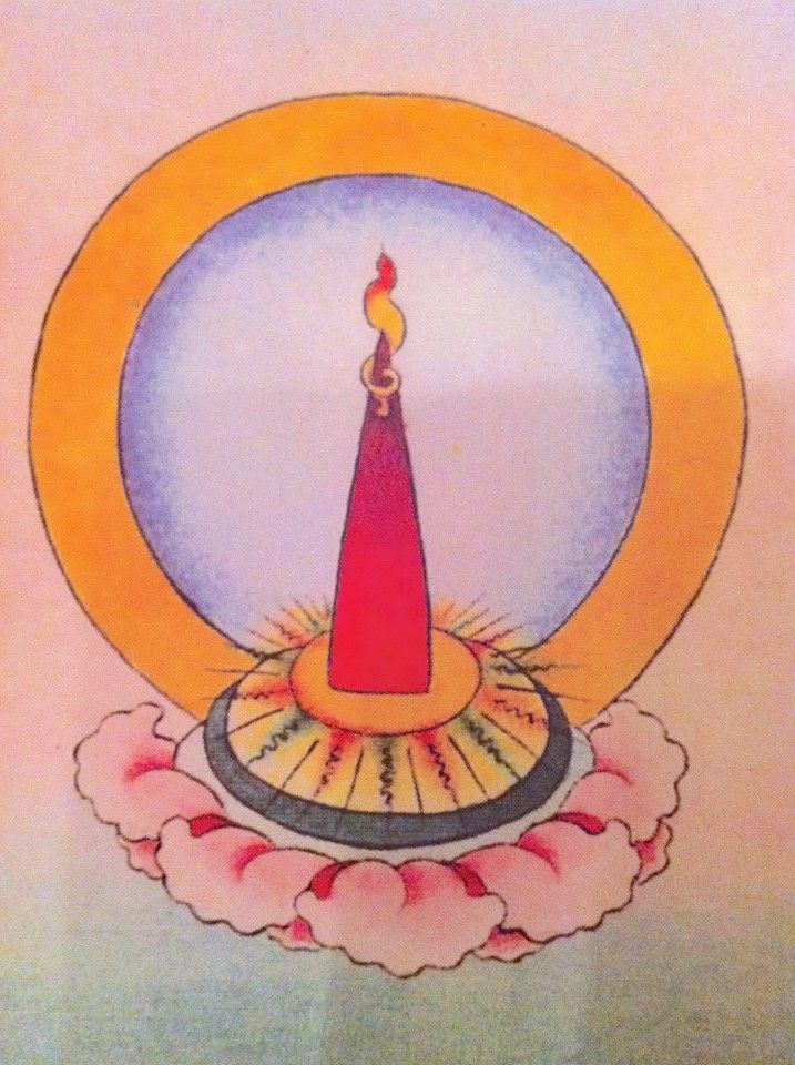 The White And Red Energy Of Tummo Yoga