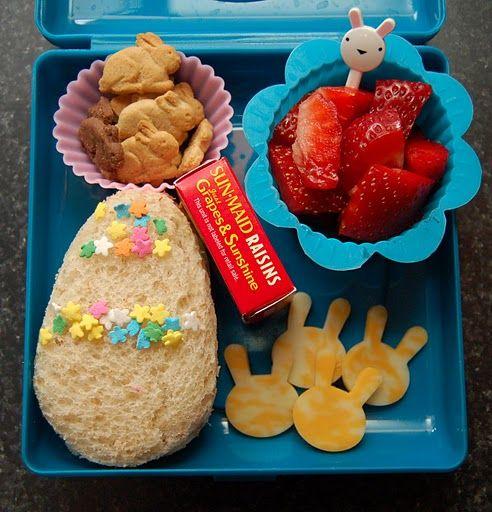 Hoppy Easter! #bento, Bento Box Lunch Ideas for Kids