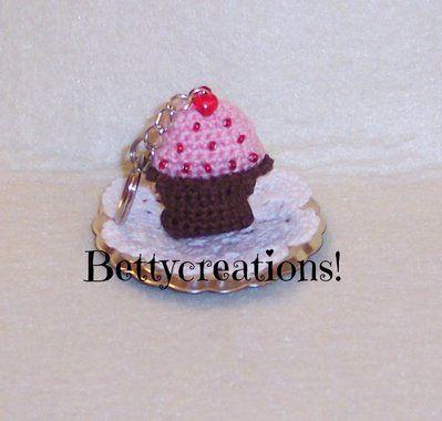 Portachiavi Cupcake Uncinetto Pinterest