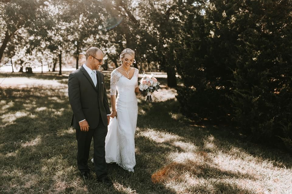 Harn Homestead July Wedding. Brianna Record Photography.