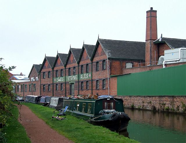 Joule's Brewery Warehouse, Trent and Mersey Canal, Stone