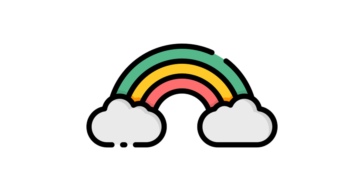 Rainbow Free Vector Icons Designed By Good Ware Icon Design Instagram Highlight Icons Vector Icon Design