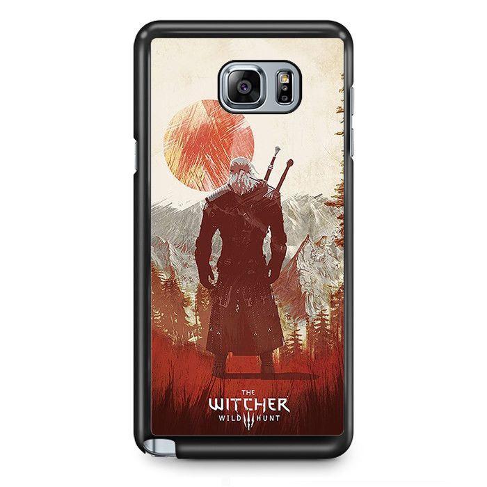 The Witcher 3 TATUM-11145 Samsung Phonecase Cover Samsung Galaxy Note 2 Note 3 Note 4 Note 5 Note Edge