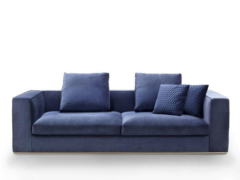 Matheus Fabric Sofa By Marelli Fabric Sofa Sofa Types Of Sofas