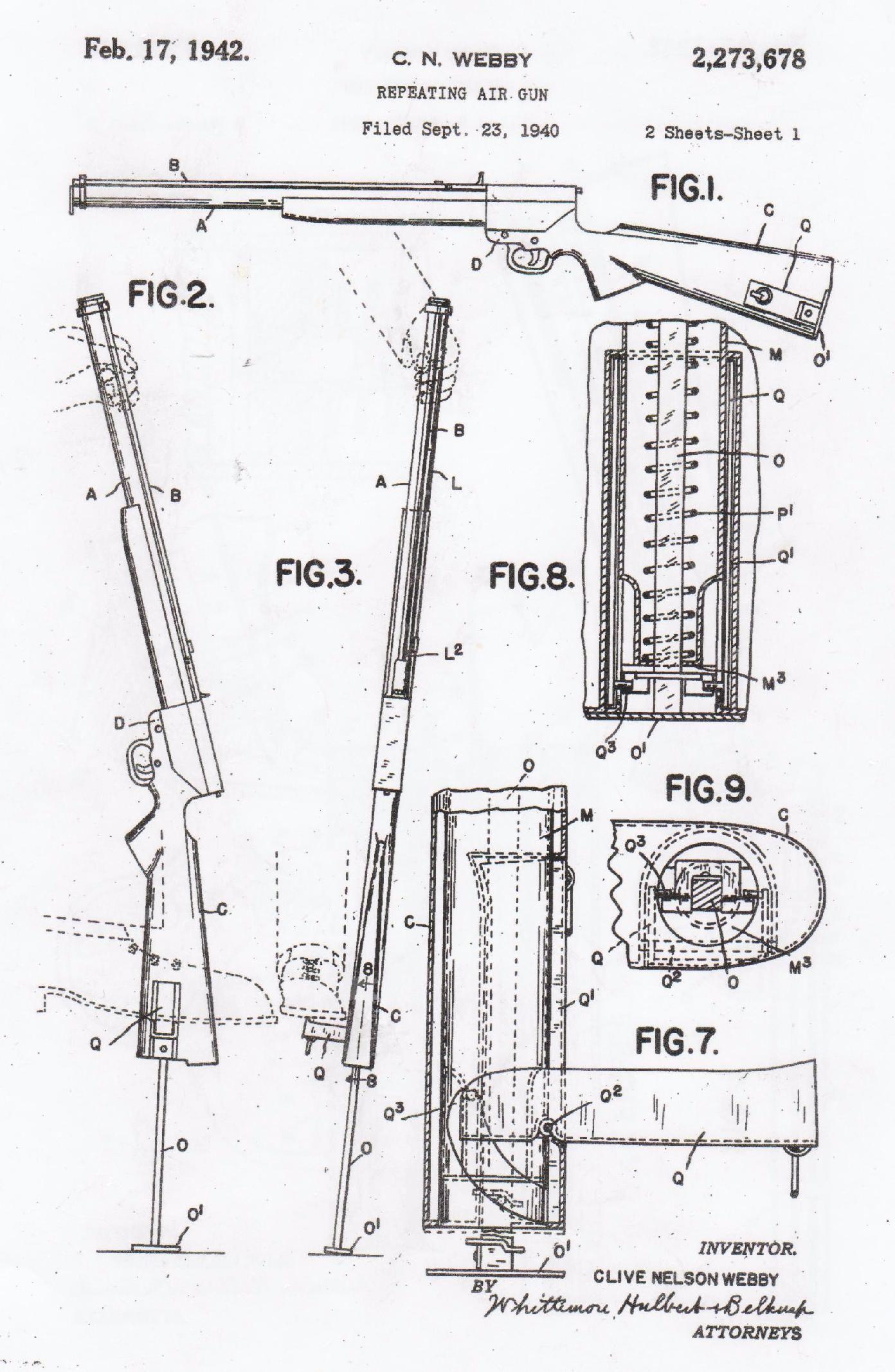 Trev S Airgun Scrapbook Weby Air Rifle