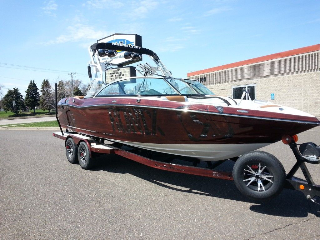 Woodgrain Boat Wrap Ronix Boat Wrap Mastercraft X - Sporting boat decalsbest boat wraps custom vinyl images on pinterest boat wraps