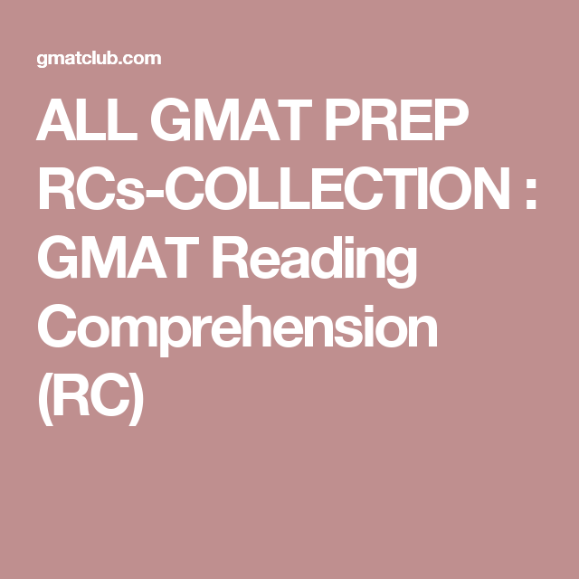 ALL GMAT PREP RCs-COLLECTION : GMAT Reading Comprehension