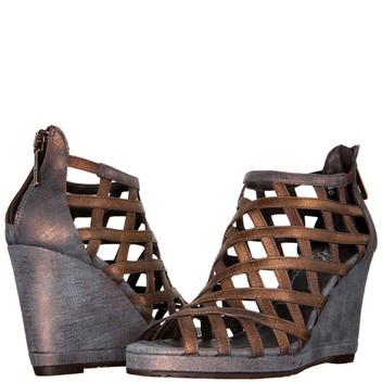 Donald J Pliner Womens Maida2 Wedge Sandal