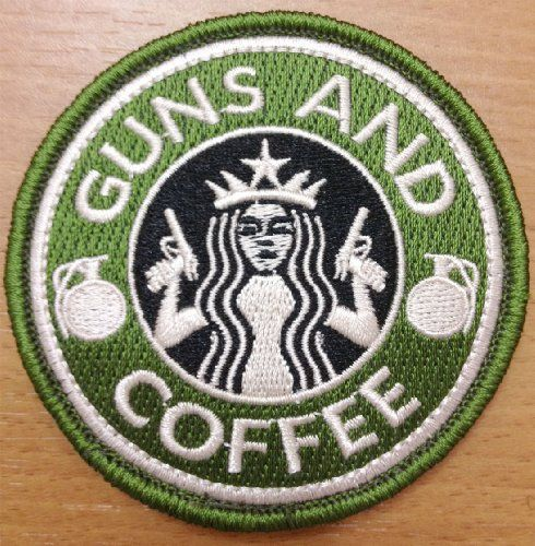SWAT JTG Guns And Coffe Patch