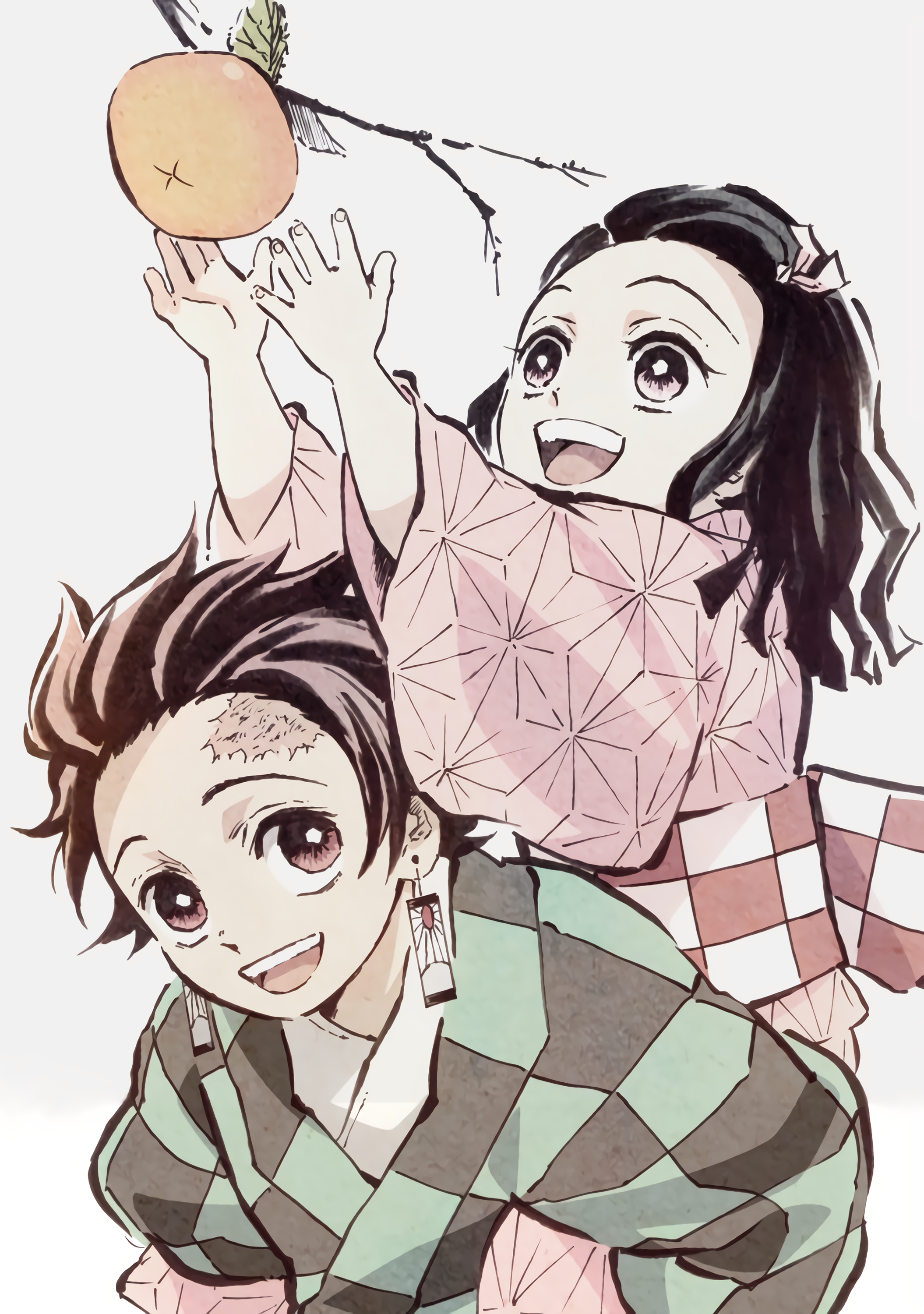 Tanjiro and Nezuko (Kimetsu no Yaiba) Small stitch