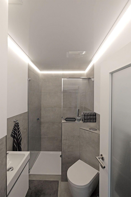 Indirekte Beleuchtung Im Badezimmer Plameco Decke Mit Led