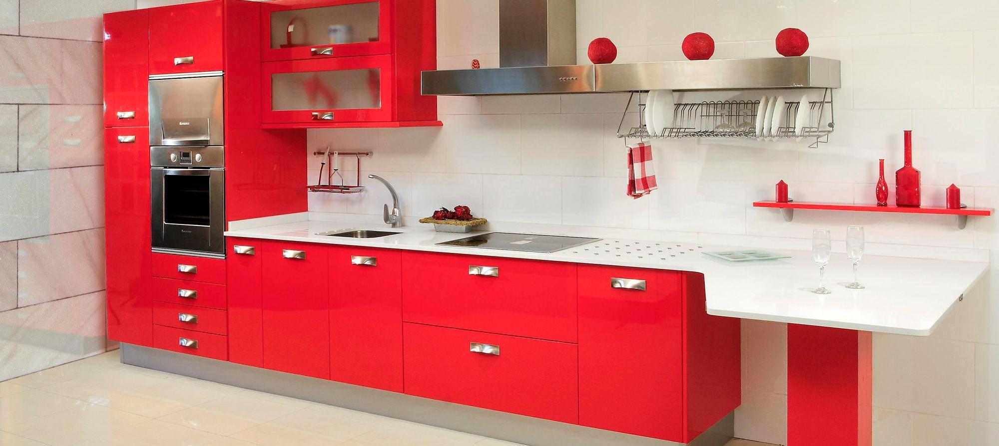 Resultado de imagen para cocinas integrales modernas para for Cocinas en espacios pequenos