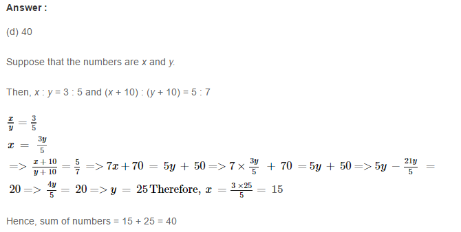 Ratio and Proportion RS Aggarwal CBSE Class 7 Maths ...