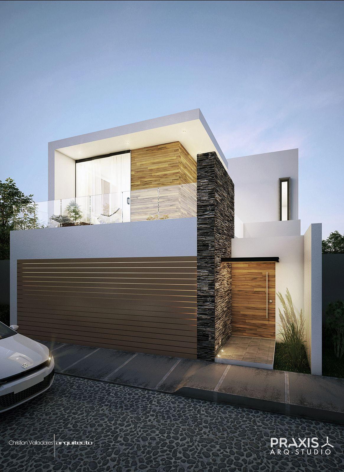 1 fachada Facade house, Small house exteriors, Small