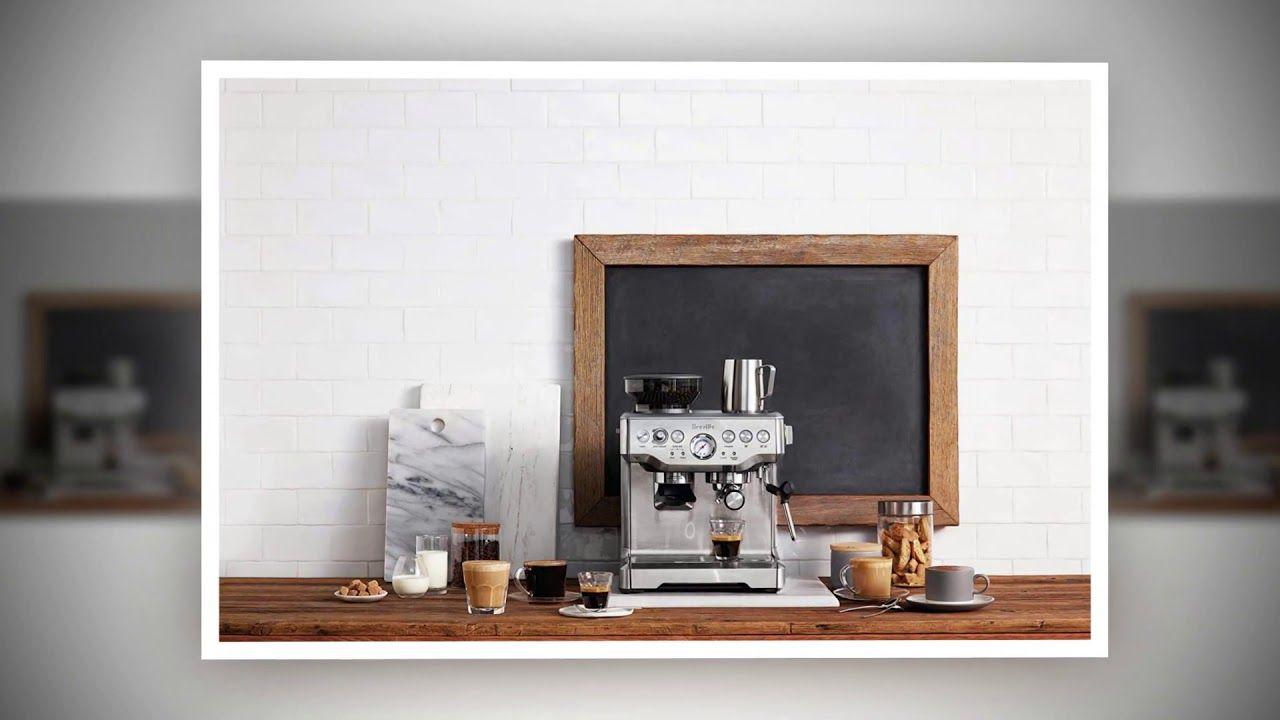 Breville bes870xl barista express espresso machine video