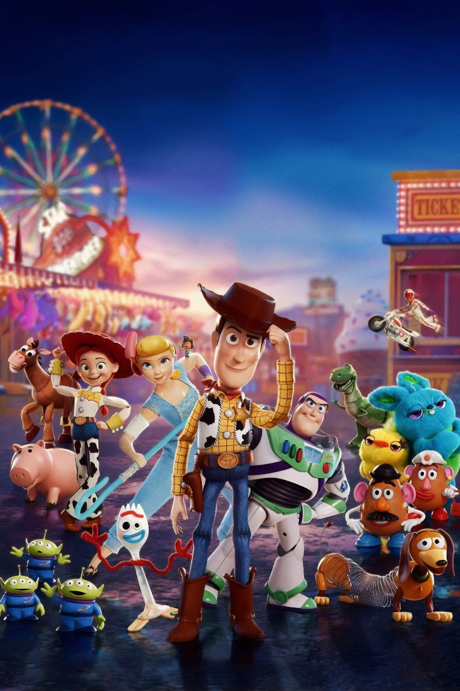 Toy Story 4 (2019) Poster Wall art Print