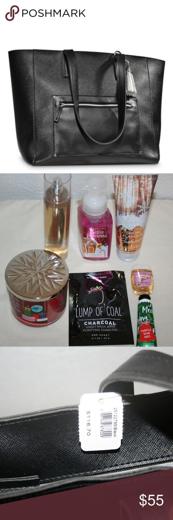 Bath And Body Works Vip Bag Tote With 7 Items New Bath And Body