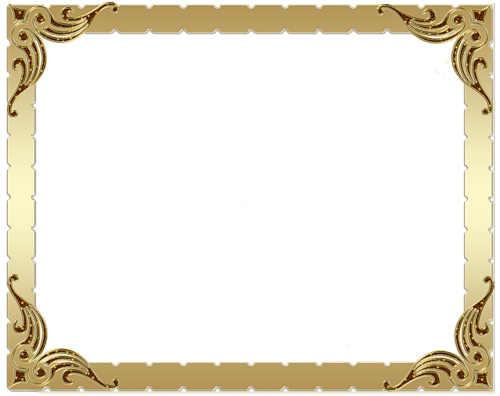 براويز شهادات تقدير افضل كيف Frame Decor Frame Gold