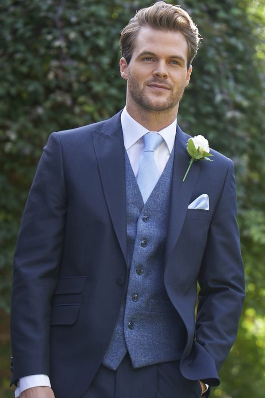 TWEED BLUE GREY WAISTCOAT 239 | Wedding | Pinterest | Blue grey ...