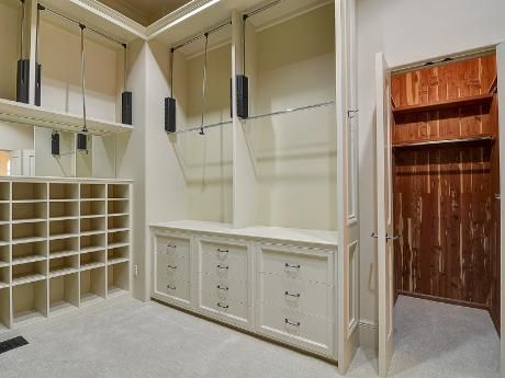 Genial Closet Racking System To Hang Clothes High...pull Down On Rod To Lower Rod  To Eye Level.