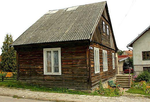 Litewski dom w Sejnach